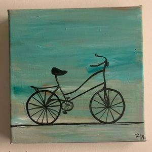 Other - Bicycle painting- acrylic on canvas